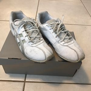 White ASICS Cheerleading Sneakers